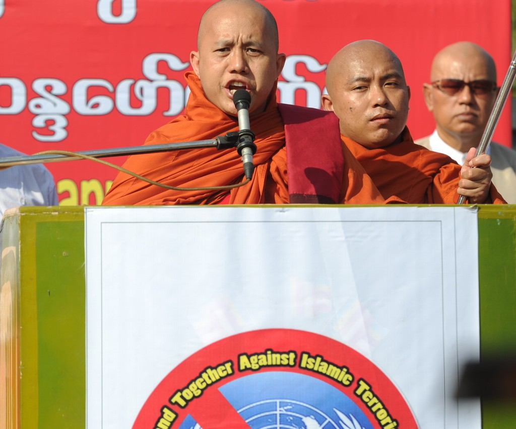 Photo du moine bouddhiste Wirathu