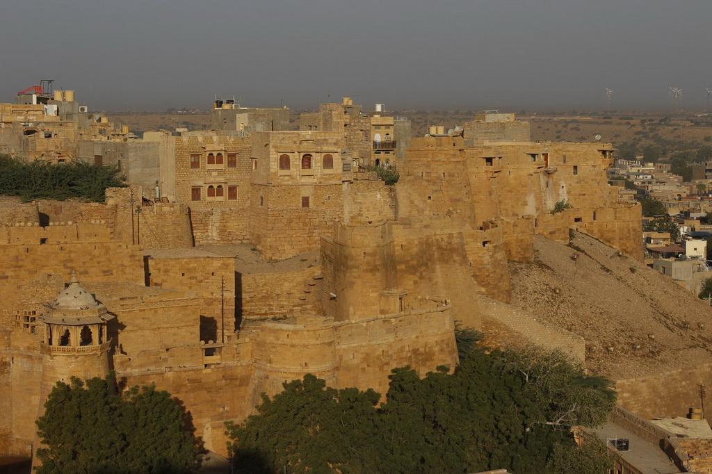 Photo de la cité fortifiée de Jaisalmer en Inde
