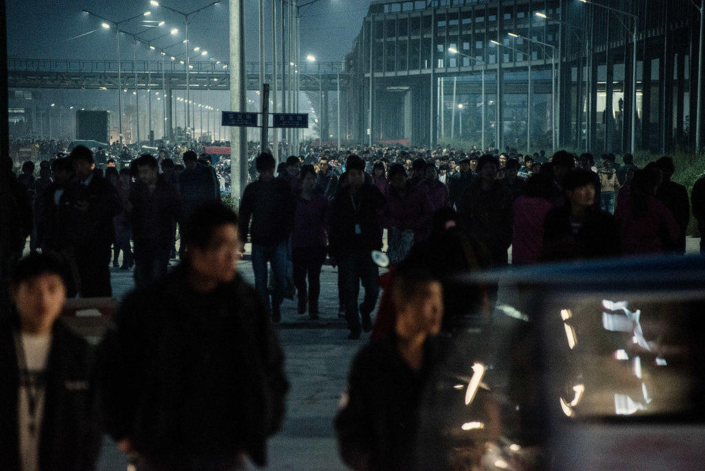 Photo de la sortie d'usine