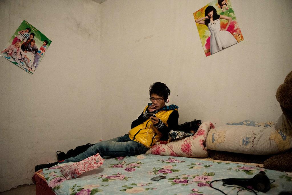 Photo de Li Yiyang dans sa chambre