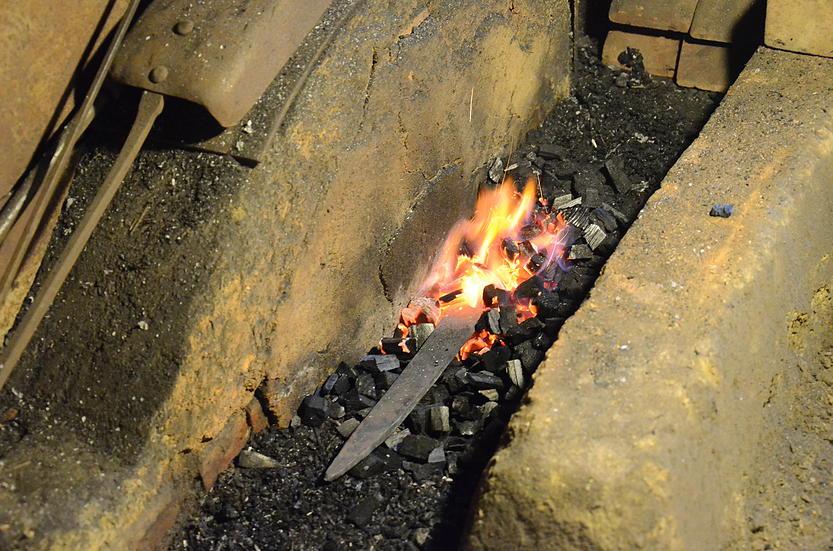 photo de la forge