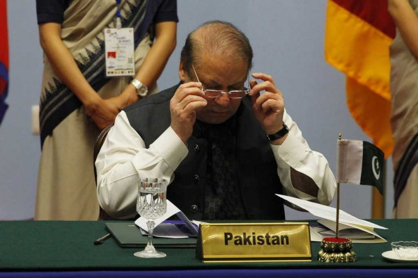 Photo du premier ministre Pakistanais