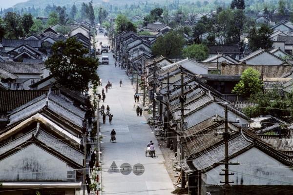 Photo de la ville de Dali.
