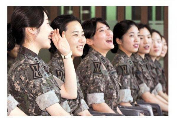 Infirmières militaires COREE DU SUD MERS
