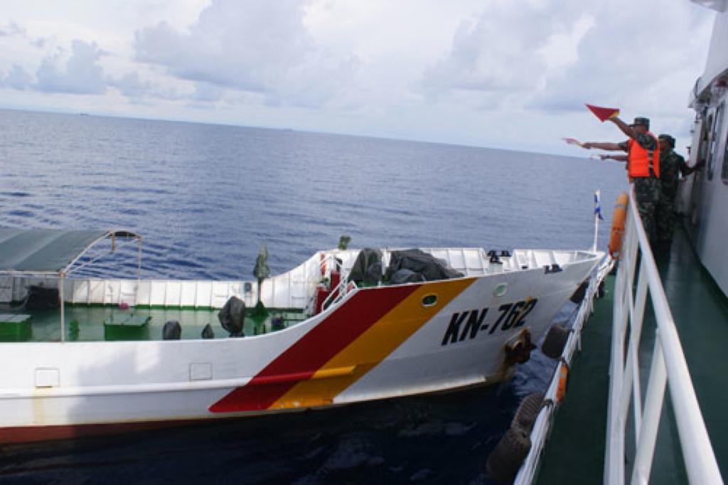 La collision entre un bateau de gardes-côtes chinois et des pêchers vietnamiens