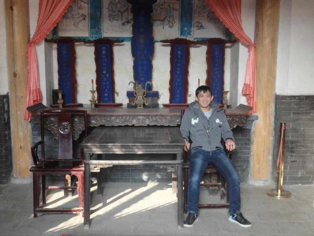 CHINE DONGGAN L'un des représentants de la minorité Donggan