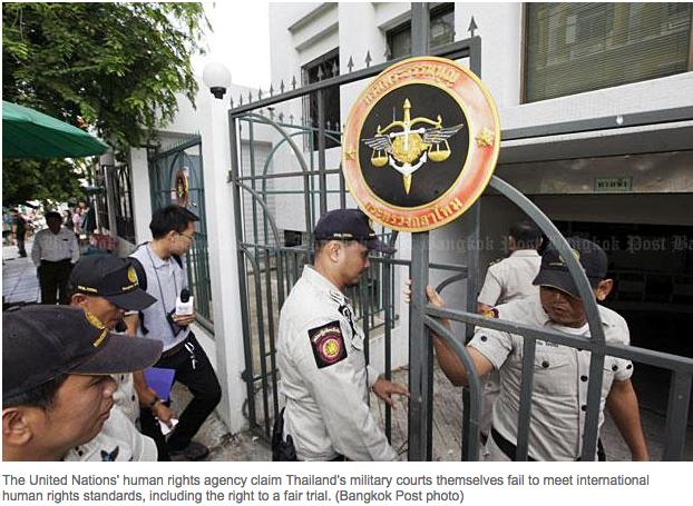 Copie d'écran du Bangkok Post, le 11 août 2015