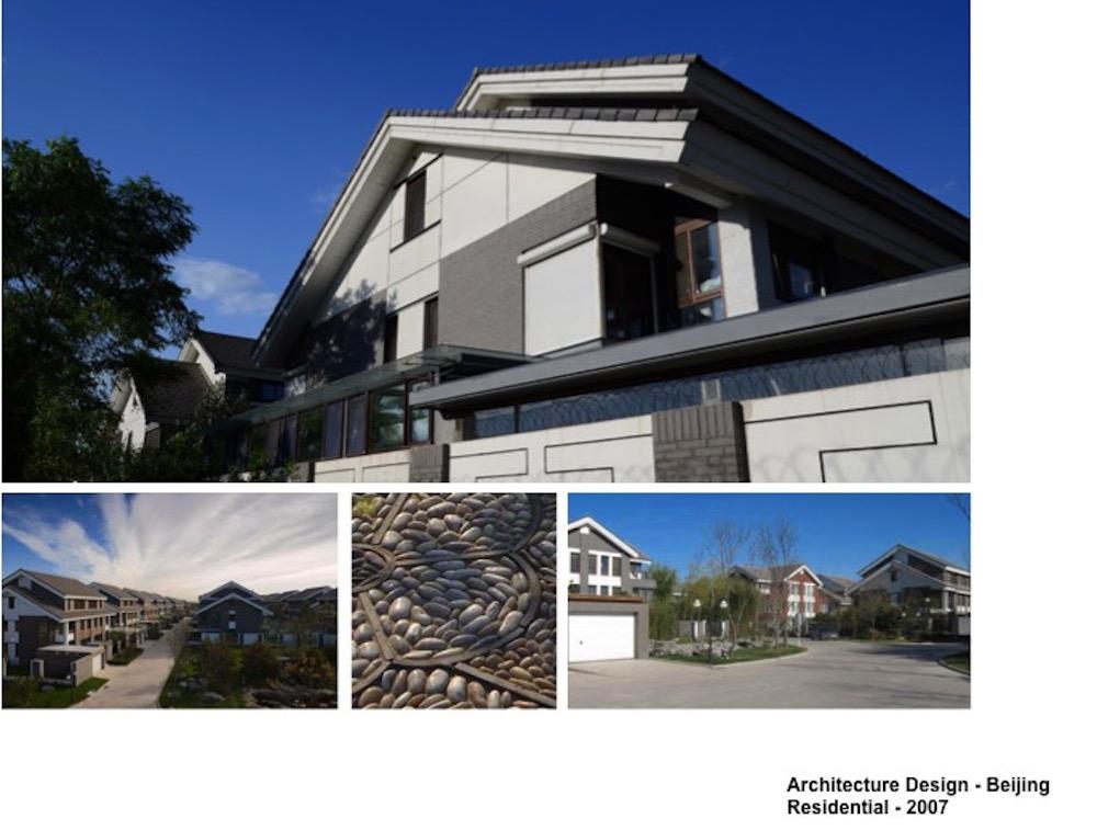 Projet Résidentiel à Xiangshan (香山). (Crédit : Architecture Design, Beijing Residential, 2007)