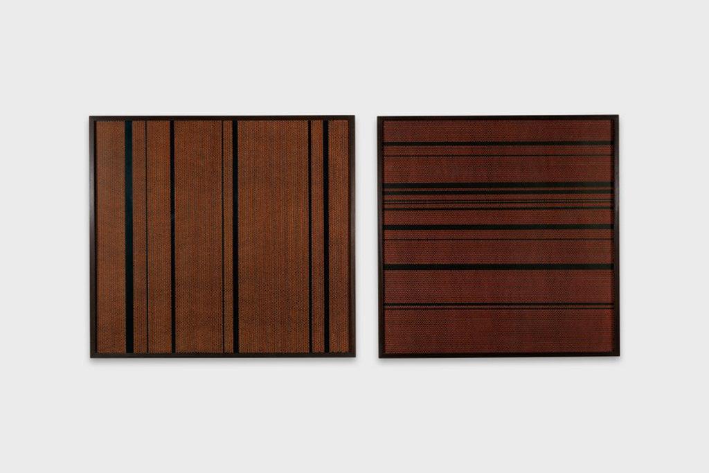"""Œuvre de l'artiste indien Barthi Kher, """"Questions and answers"""", 2014. (Crédit : DR)"""