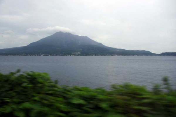 Le volcan Sakurajima. (© Jean-François Heimburger)