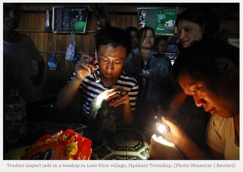 Copie écran du site The Irrawaddy.