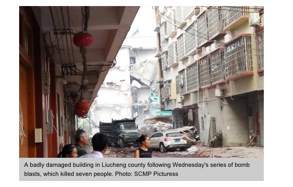 Copie d'écran du site South China Morning Post du 1er octobre 2015