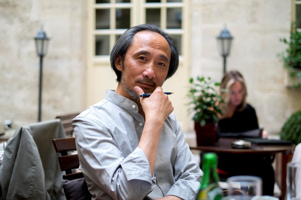 Ma Jian, écrivain chinois exilé en Angleterre. (Copyright Antoine Besson)