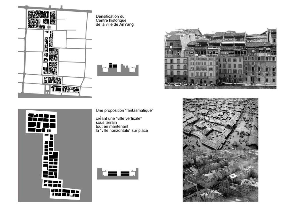 Densification du centre historique de la ville de Anyang, dans la province du Henan (photo 2). (Crédit : Qi Xin Atelier).