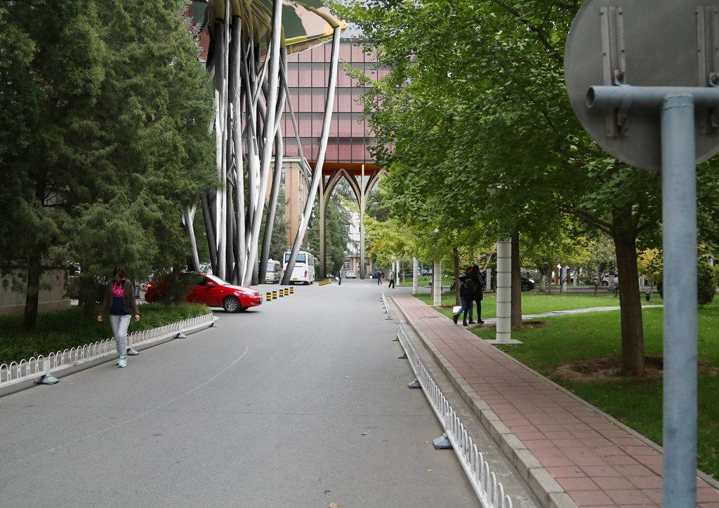 Aménagement du campus de l'Université de l'Architecture de la Ville de Pékin (photo 3). (Crédit : Qi Xin Atelier).