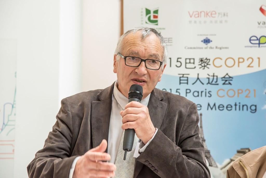 Pierre Calame, co-fondateur du Forum Chine-Europe, le 2 décembre 2015.