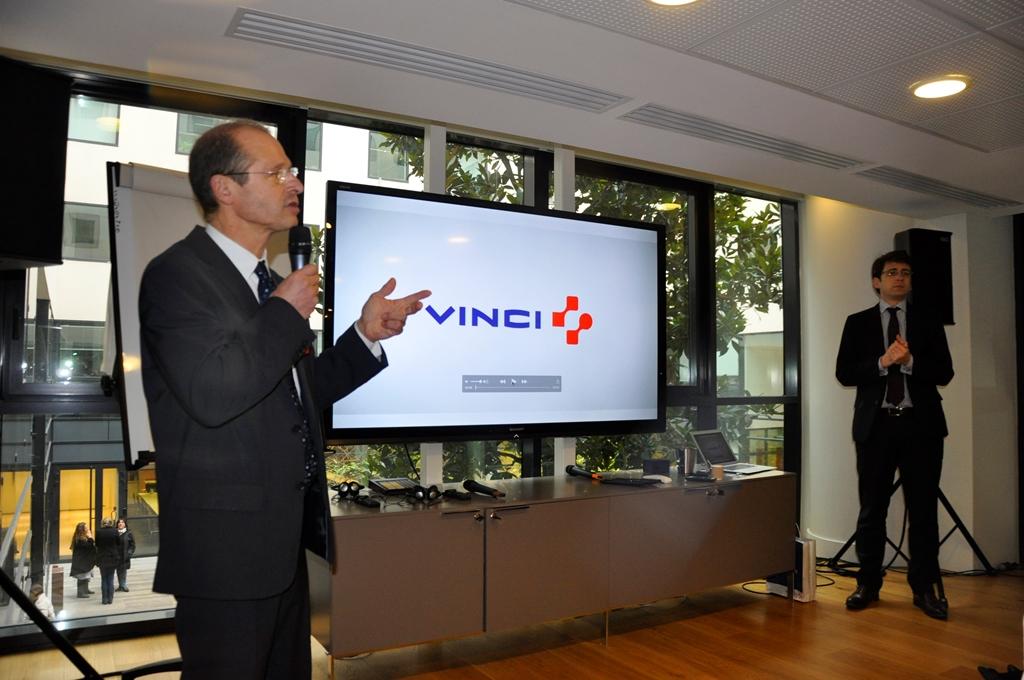 Christian Caye, délégué au développement durable du groupe Vinci, le 2 décembre 2015.