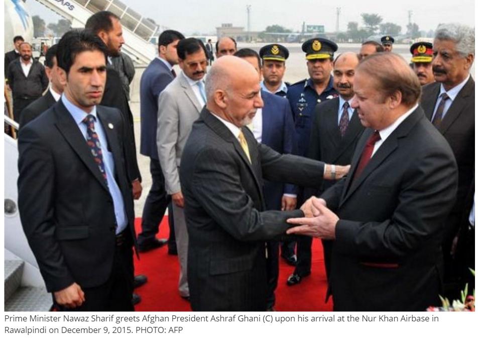 Le Président afghan a été reçu aujourd'hui par le Premier ministre pakistanais à Islamabad, pour l'ouverture du sommet Heart of Asia