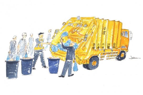 """""""Citron mécanique"""", un dessin d'Ivan Gros."""