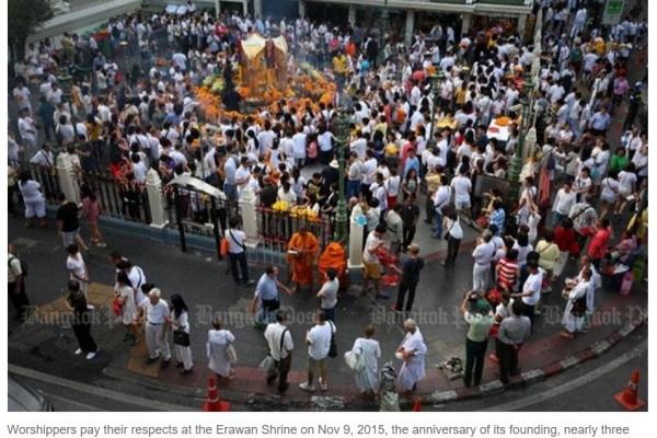 Deux individus arrêtés dans le cadre de l'enquête des attentats de Bangkok