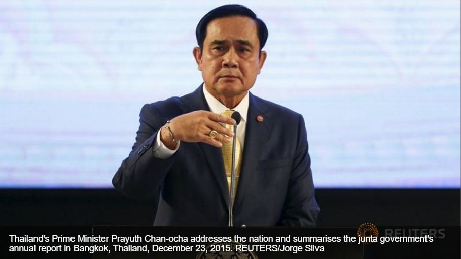 Dans son discours à la nation, le Premier ministre thaïlandais Prayuth Chan-ocha a défendu son gouvernement et ses réformes tout en promettant des élections mi-2017.
