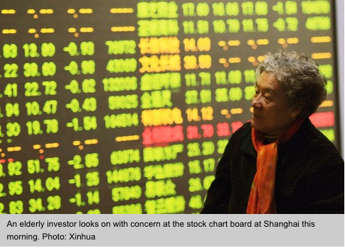 Nouveau coup dur pour les bourses asiatiques alors que les marchés chinois dévissent