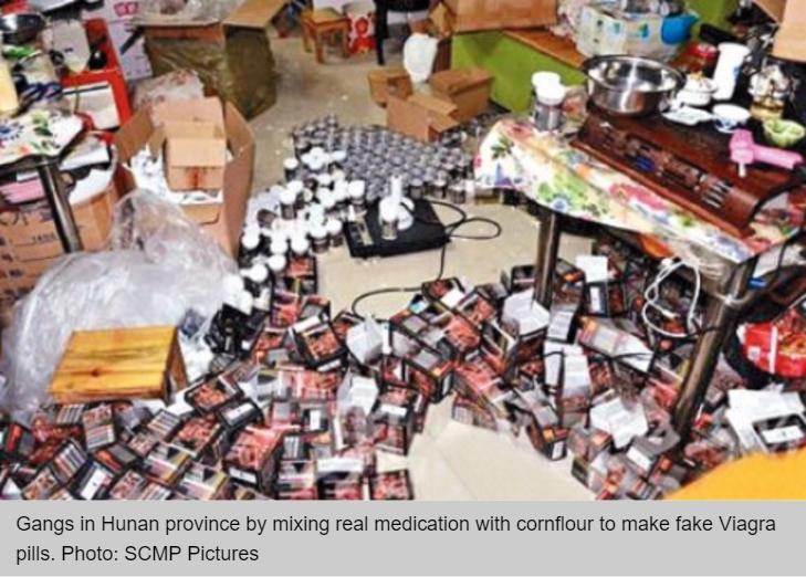 pilules de viagra contrefait