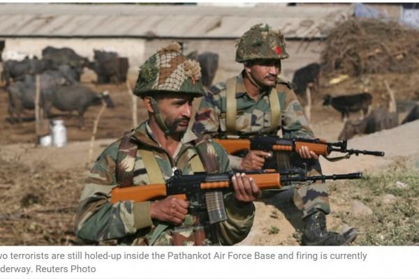 L'opération antiterroriste à la base de Pathankot (Inde) est toujours en cours