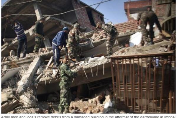 Tremblement de terre Manipur