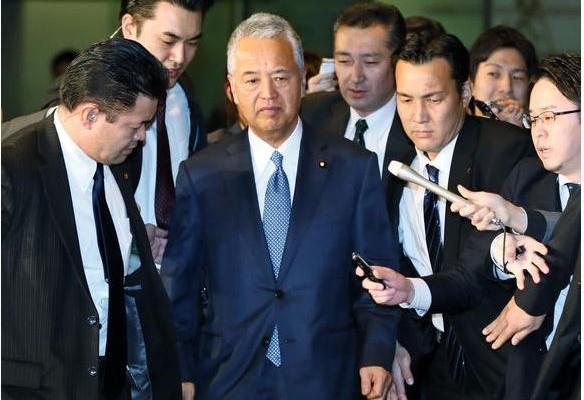 Akira Amari était un pilier du gouvernement de Shinzo Abe.