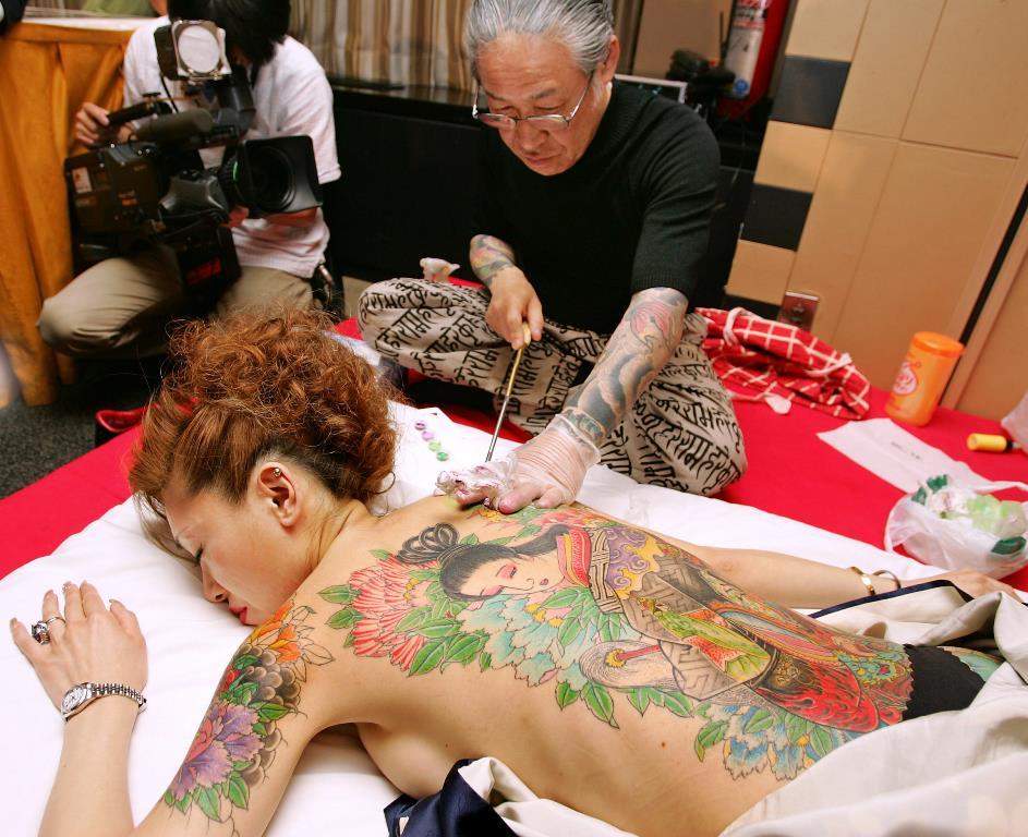 japon l avenir du tatouage en sursis asialyst. Black Bedroom Furniture Sets. Home Design Ideas