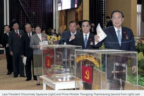 En même temps que le Vietnam, le comité central du PC laotien votait pour composer son nouveau Politburo hier jeudi 21 janvier.