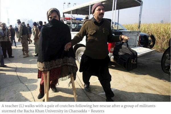 Une attaque terroriste contre l'université pakistanaise de Bacha Khan a fait au moins 21 morts et des dizaines de blessés ce matin