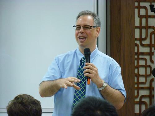 Nathan Batto, chercheur à l'Institut des sciences politiques de l'Academia Sinica à Taipei.