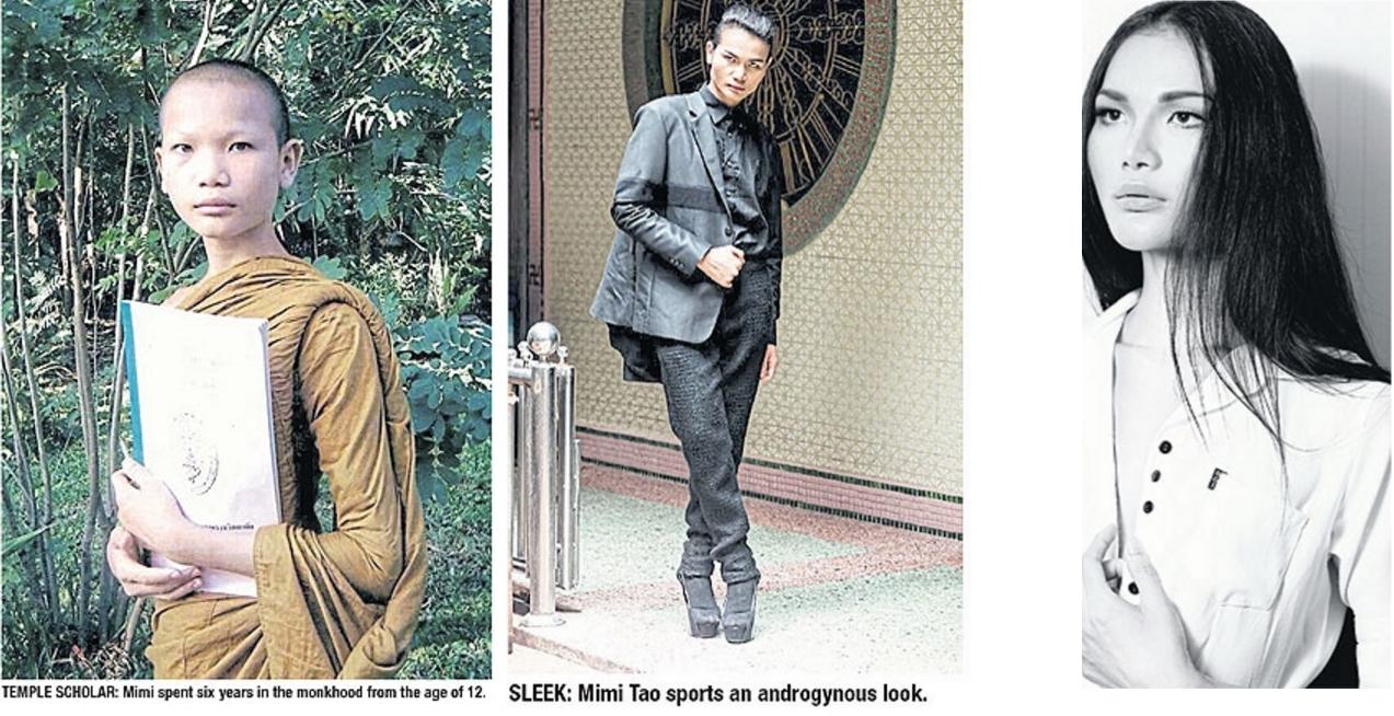 En 10 ans, Mimi Tao est passée de la toge safran aux robes des grands couturiers.