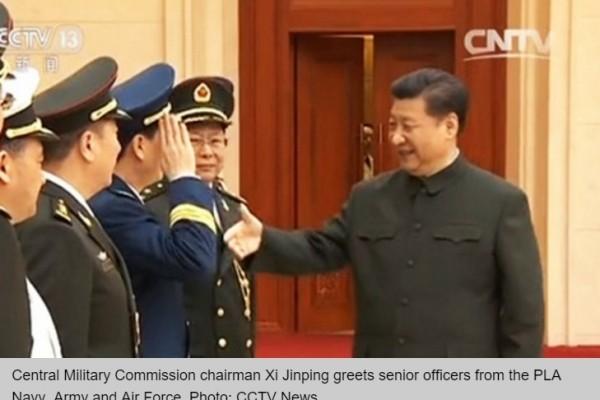 La Chine a mis en place hier un nouveau découpage géographique militaire.