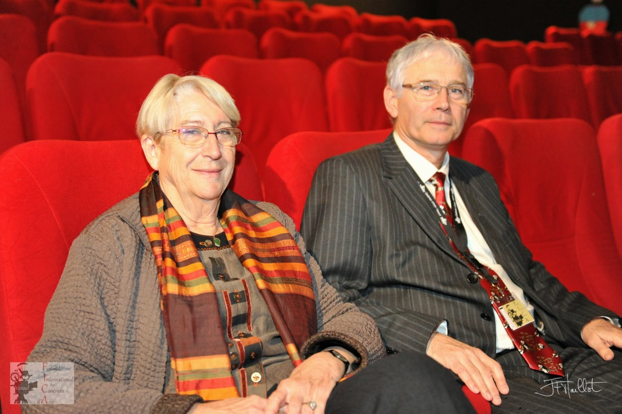 Martine et Jean-Marc Therouanne, les fondateurs du Festival international des cinémas d'Asie de Vesoul.