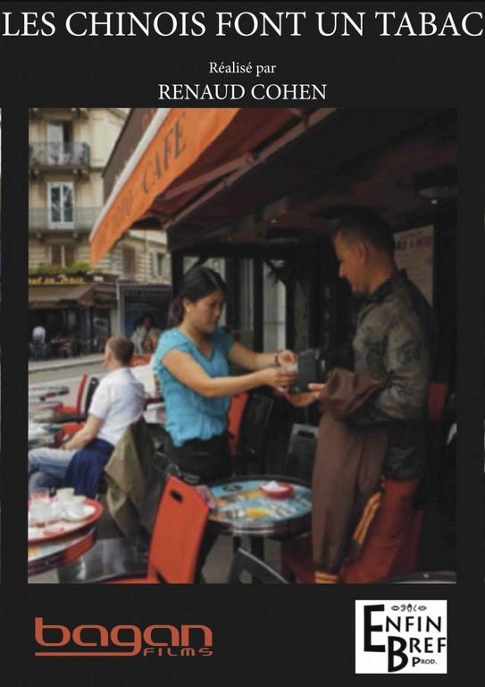 """L'affiche du documentaire de Renaud Cohen """"Les chinois font un tabac"""""""