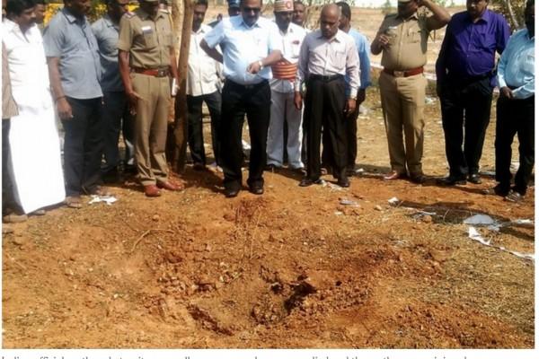 Selon la NASA, ce n'est pas une météorite qui a tué le chauffeur de bus du Tamil Nadu (Inde) dimanche.