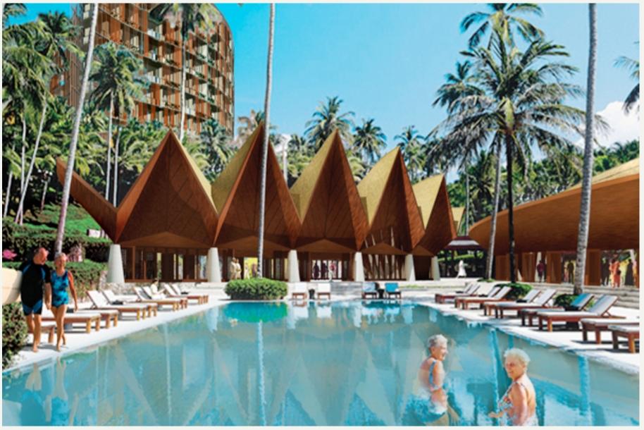 """""""The Green Leaf"""" complexe immobilier de luxe réservé aux seniors, en Malaisie."""