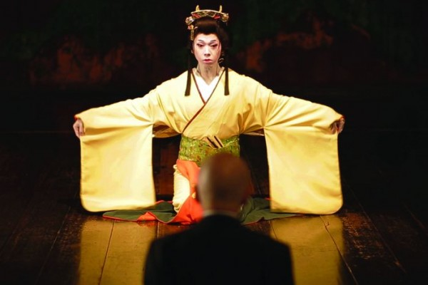 Yoshino-san, le personnage principal du film Ningen