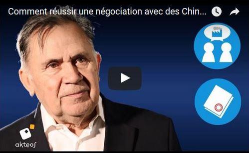 """Extrait de la vidéo d'Akteos, """"Comment réussir une négociation avec les Chinois ?""""."""