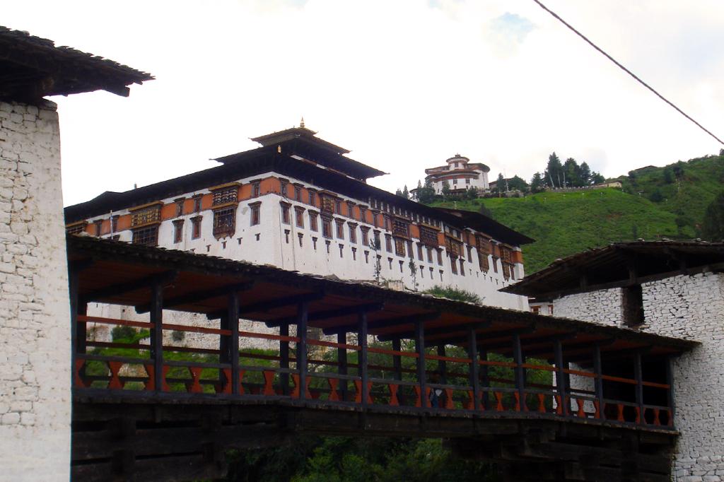 Le Dzong de Paro.