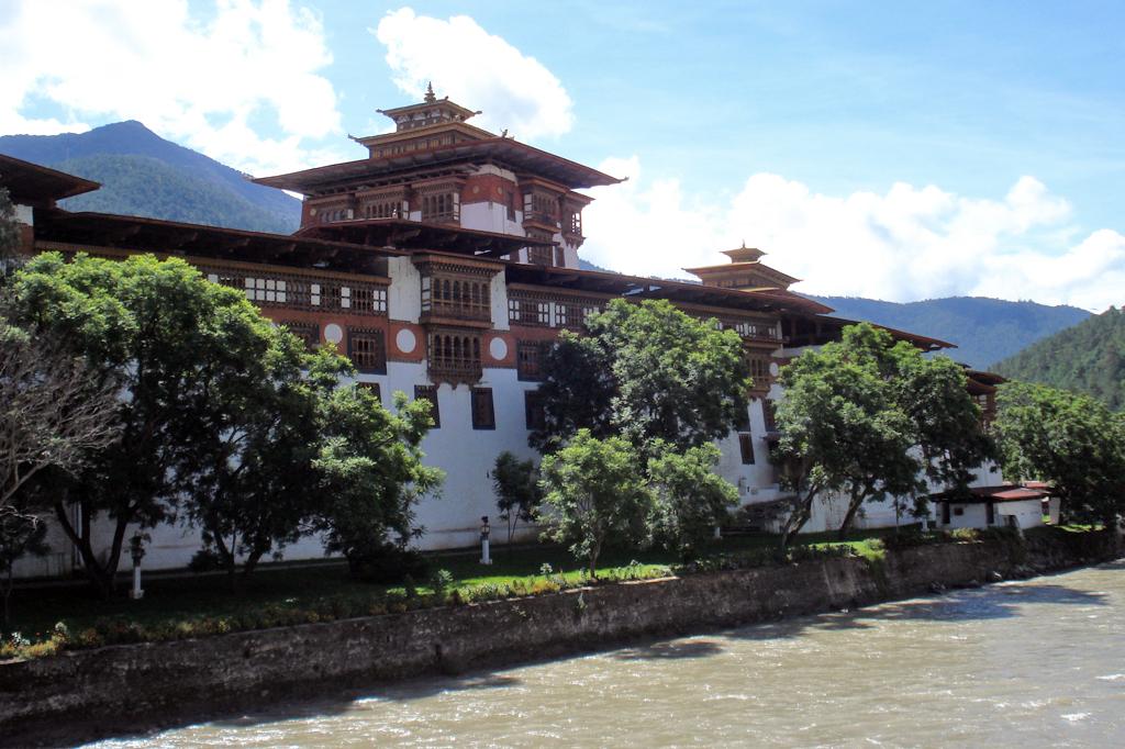Le Dzong de Punaka