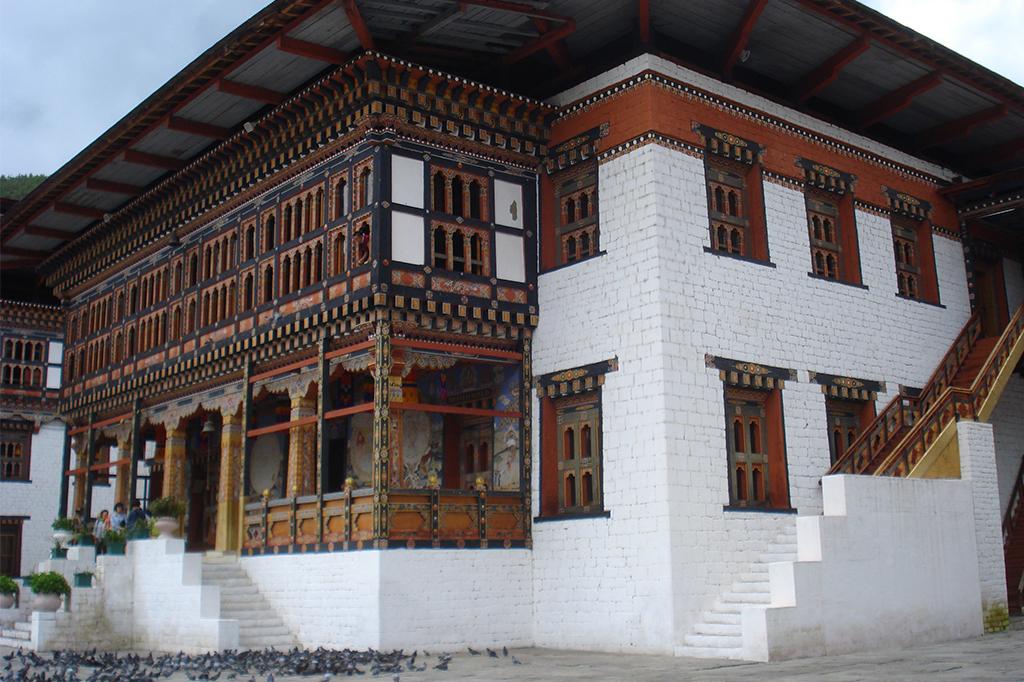 Le Dzong de la capitale abrite tous les services centraux du royaume.