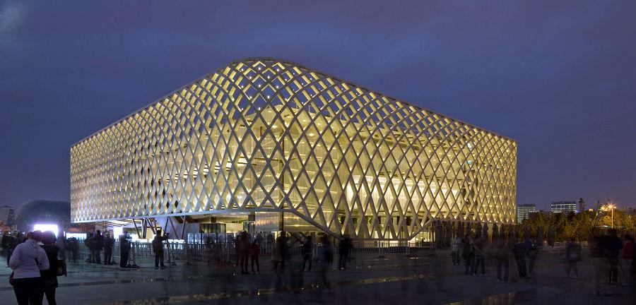 e Pavillon de la France lors de l'exposition universelle de Shanghaï en 2010.