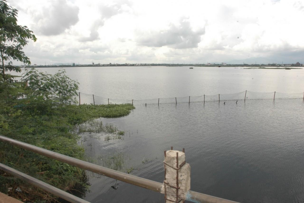 Vandiyur Lake à Madurai.