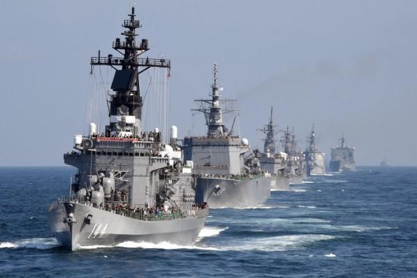 Le Kurama, navire d'escorte de la Force d'auto-défense maritime japonaise