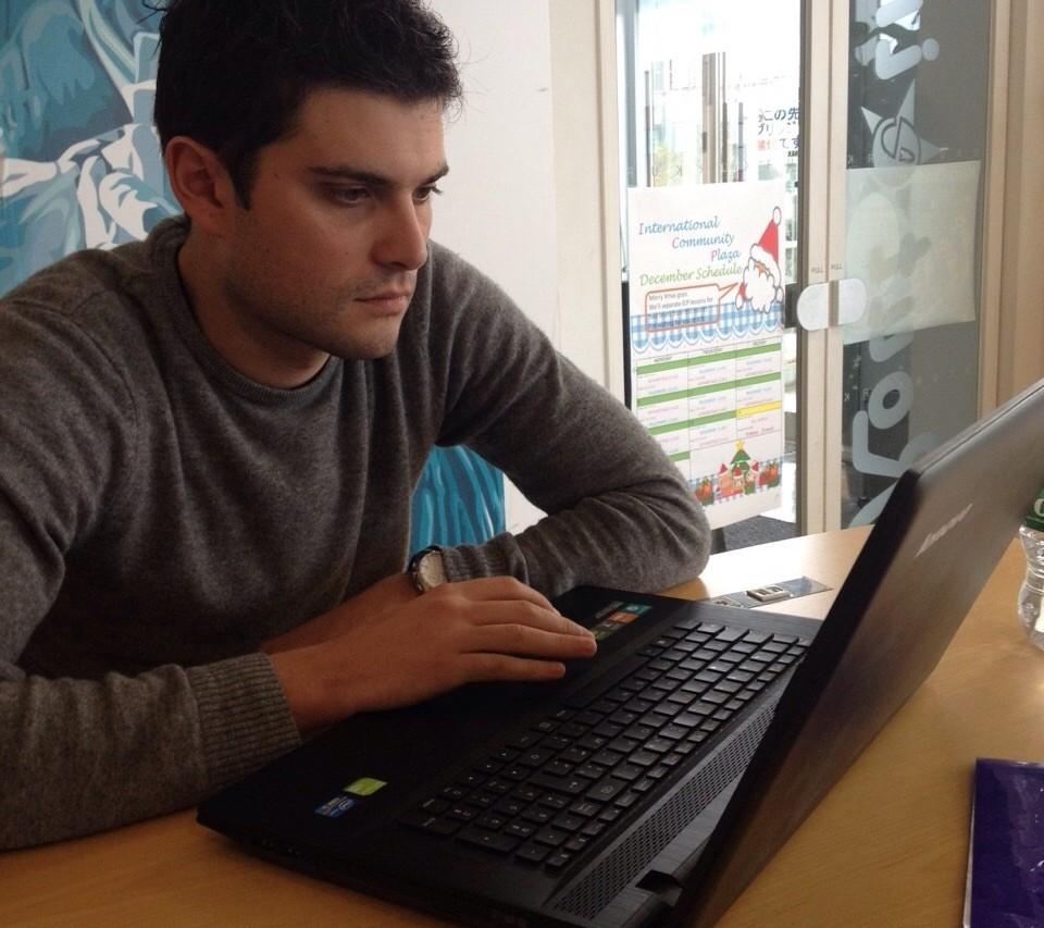 """Mathieu Gaulène, journaliste et auteur du livre """"Le Nucléaire en Asie"""""""