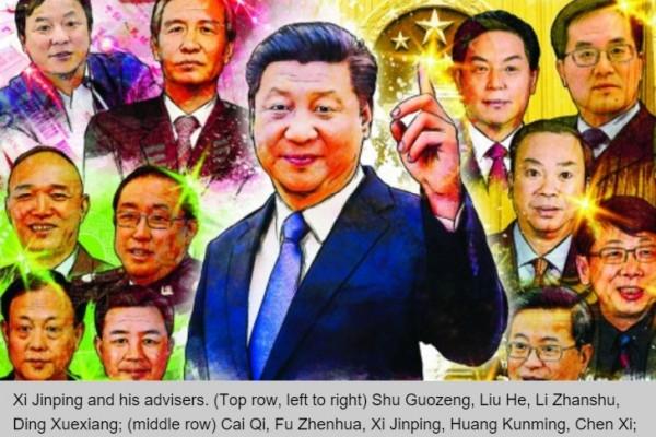 l'entourage du président chinois Xi Jinping
